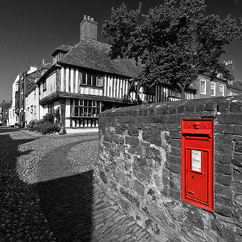 "Victorian Post box in Rye, East Sussex by Hastings Photographer Jon ""Huldrick' Wilhelm."